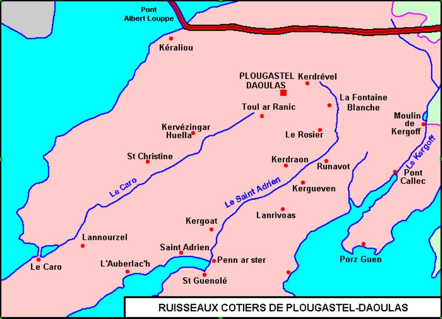 Ruisseau cotier plougastel